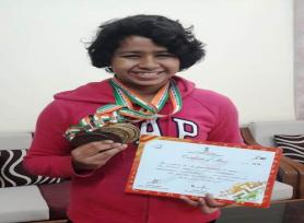 ASTHA CHAUDHARY, Student of Class IX