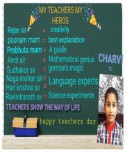 Student from Hyderabad Region